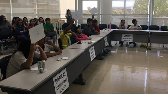 Sponsorship of Academic Competition to Schools in Carmona